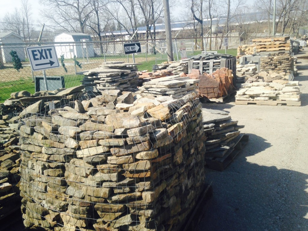 Landscaping rock louisville ky canyon falls fountain for Landscaping rock louisville ky