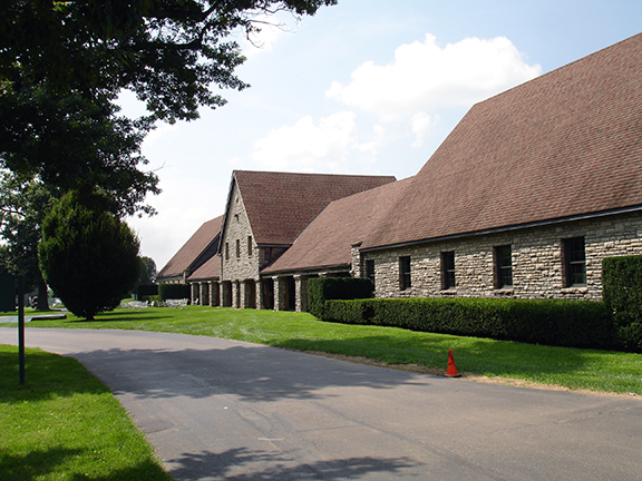 Keeneland in Lexington Ky