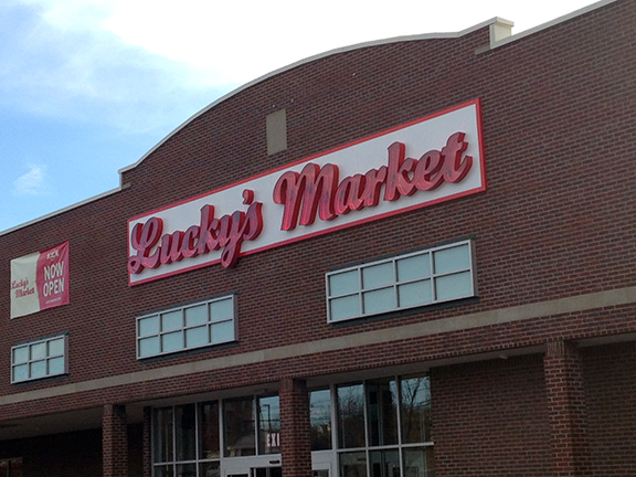Lucky's Market in Lexington Ky