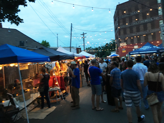 Night Market in Lexington Ky